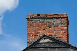 Damaged chimney due to lack of wildlife control