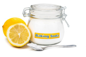 Baking soda and lemon