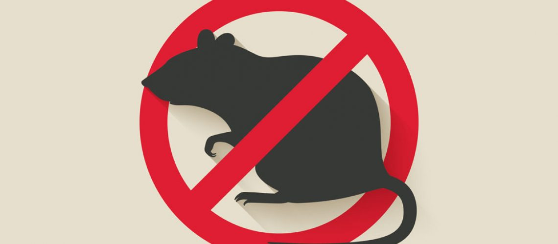 Wildlife management service and rodent control sign